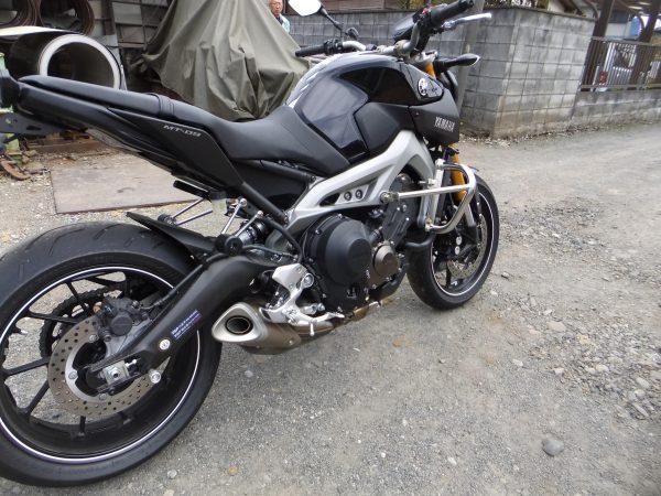 Yamaha MT-09 ssb crash bar 03