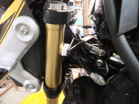 Honda Grom steering wheel stopper base