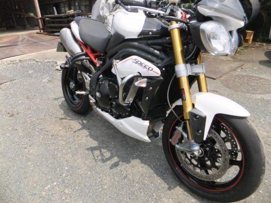 New Triumph Speed Triple SSB