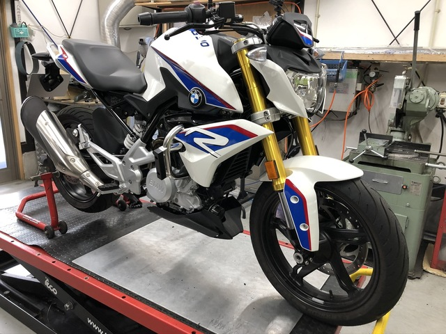 Crash bars for BMW G310R